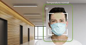 reconhecimento facial mascara de proteção