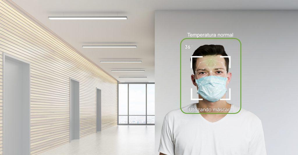 camera de temperatura corporal