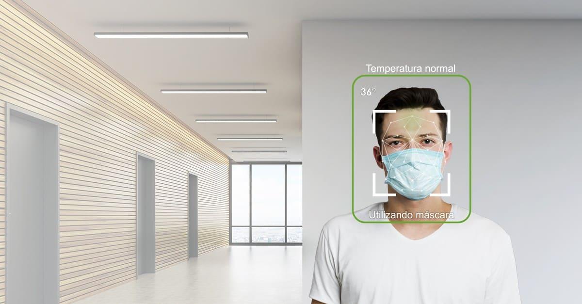 câmera temperatura