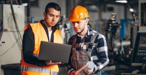 Segurança eletrônica em indústrias
